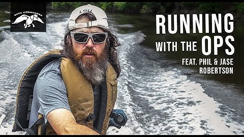 Running with the Ops | Jase and Phil Robertson's Fishing Legacy