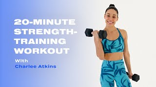 Charlee Atkins의 무게를 사용한 20 분 근력 훈련 운동