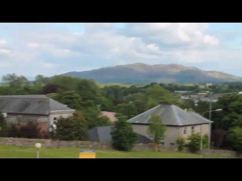 Sligo, Ireland, with EXTRAORDINARY PYRAMID MOUND overlooking.