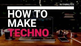 HOW TO MAKE TECHNO IN 5 MINUTES - Ableton live Project in the description below ¡¡