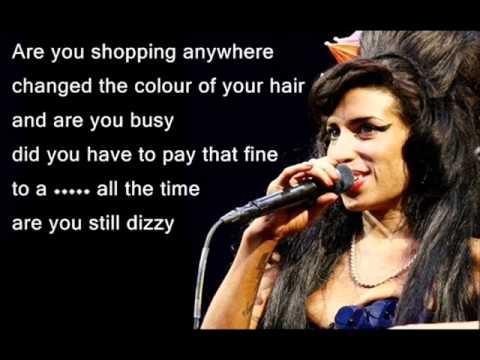 Amy Winehouse - Valerie (Lyrics)