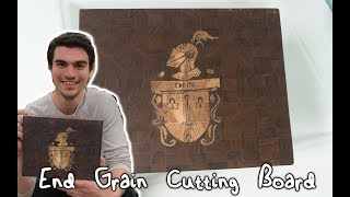 Making an End Grain Cutting Board for My Brother and Parents