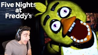 CHICA IS DRIVING ME CRAZY IN THE ORIGINAL FNAF GAME! - Five Nights at Freddy's (Part 1)