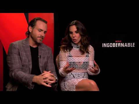 Ingobernable  Kate Del Castillo & Erik Hayser Interview
