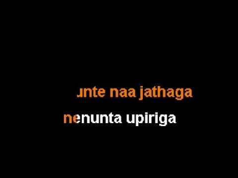 I-Manoharudu~Nuvvunte Naa Jathaga (Karaoke Version)~Sing Sing India