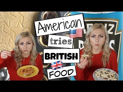 American Tries British Food | Vegan | Mince Pie Recipe By The Anna Edit