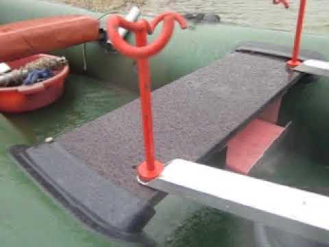 Самодельный транец на лодку ПВХ