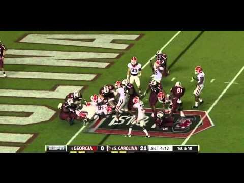 Jarvis Jones vs South Carolina (2012)