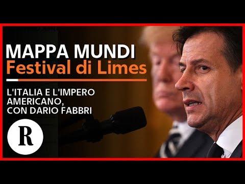 Festival di Limes - L'Italia e l'impero americano, conversazione con Dario Fabbri