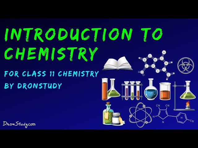 Introduction to Chemistry | Class 11 XI Chemistry | CBSE | IIT-JEE | AIPMT