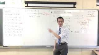 Completing the Square (2 of 2: Example)