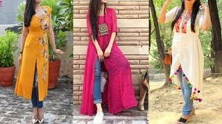 New Kurti With Jeans For Girls  How To Style Kurti With Jeans Kurti Fashiontips Stylingtips