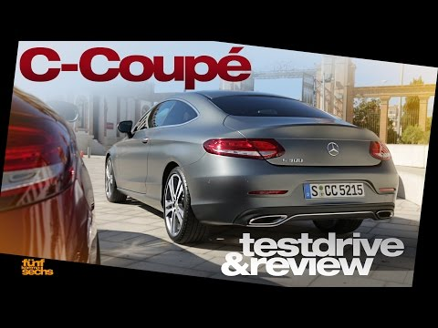 Mercedes C-Class Coupé 2016 Testdrive & Review (German) Pt.1