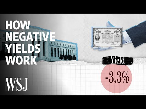 How Negative Yields Work | WSJ