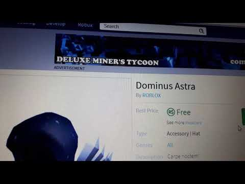 Roblox how to get all free on catalog no hack pastebin - Dominus astra ...