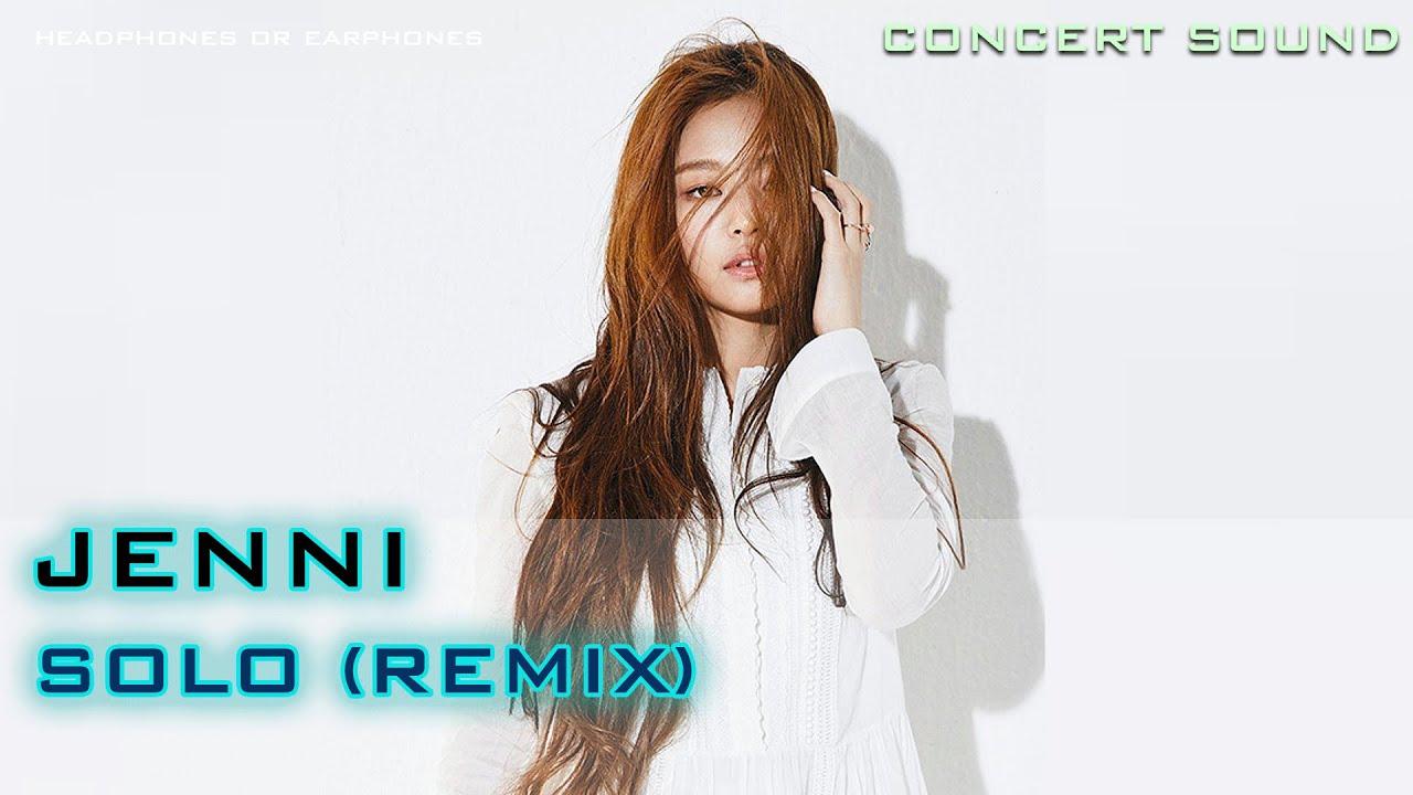 🔈CONCERT SOUND JENNIE – Solo Remix (The Show)