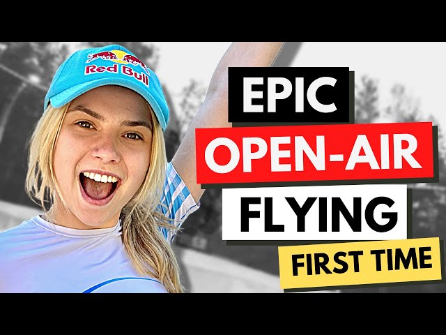PRO Indoor Skydiver Maja Kuczynska Trains In An Open-air Tunnel + BEST ADVENTURES IN LATVIA Standard quality (480p)
