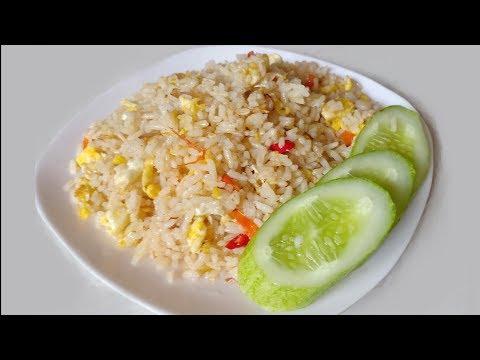 How To Make Nasi Goreng Kampung | Cara Membuat Nasi Goreng Kampung.