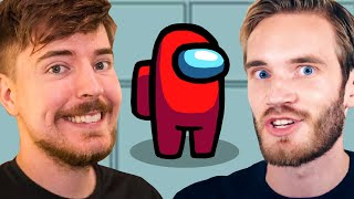 Among Us Live With PewDiePie, JackSepticEye & Corpse!