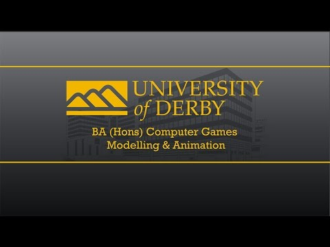 The University of Derby BA (Hons) Computer Games Modelling & Animation 2016 Show reel.