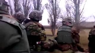 Аэропорт, Донецк. Пески, зачистка местности / Airport Donetsk Clearing Patrol 1(Зачистка территории прилегающей к аэропорту Донецк силами украинской армии и ДУК
