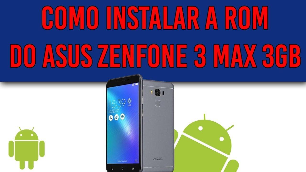 Asus Zenfone 3 Max ZC553KL Firmware Videos - Waoweo