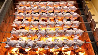 Это потрясающе! Изумительная еда, приготовленная в жаре и пламени - Корейская уличная еда