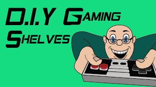 Diy Gaming Shelves - Inspired By Edt1138