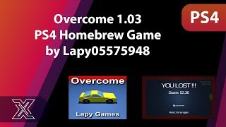 Overcome 1.03 PS4 Homebrew Game by Lapy