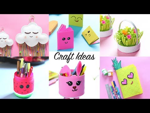 6 CUTE CRAFTS AND DIYs | Craft Ideas | DIY Projects