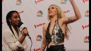 """Chloe Kohanski: """"I Left Everything On The Stage!"""" at The Voice Finale 2017"""