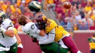 Hardest hits of the 2016-17 college football season || part 1 ᴴᴰ