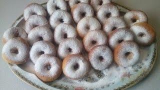 Пончики  дрожжевые.Воздушные..........