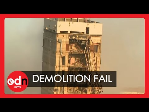 Explosion Fails to Demolish an 11-Story Building