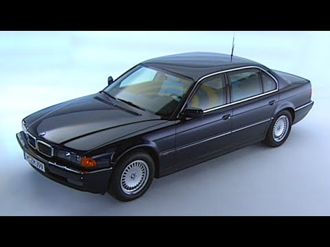 TBT BMW 750iL ARMORED Full Promo Film 1999 E38 REVIEW Bulletproof Bombproof TV Ad CARJAM 2015