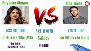 Priyanka Chopra  VS Nick Jonas Comparison || Who is the Best  ?