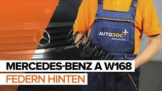MERCEDES-BENZ A-CLASS (W168) Bremssattel Reparatursatz auswechseln - Video-Anleitungen