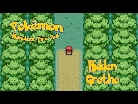 Pokémon Nameless FireRed: All Hidden Grottos