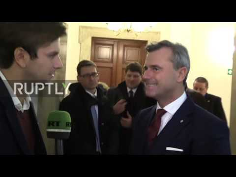 Austria: 'I don't like extremes' – Hofer interviewed ahead of presidential elections