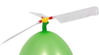How to make ballon helicopter-Propeller-Very easy at home