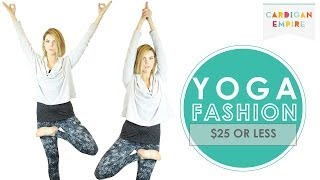 Yoga Fashion for $25 or Less Thumbnail