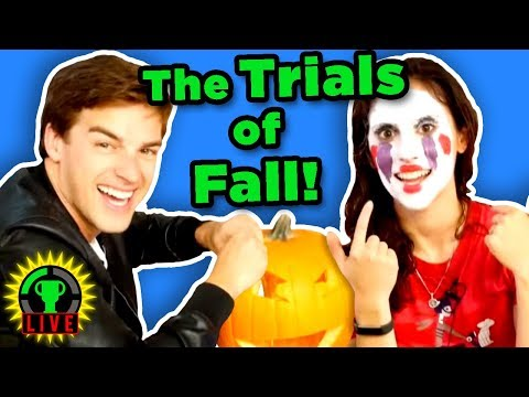 The Ultimate HALLOWEEN Challenge! | MatPat Vs Steph