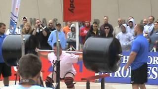 2011 World's Strongest Man- Squat Lift- Paul Pirjul