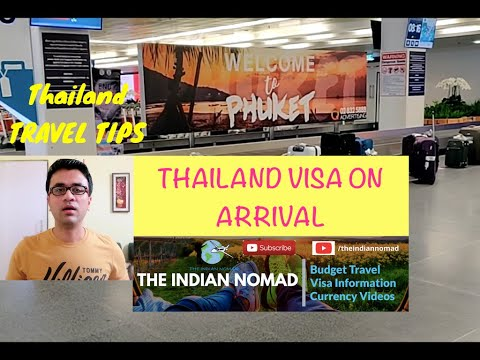 Thailand Visa on Arrival for Indians