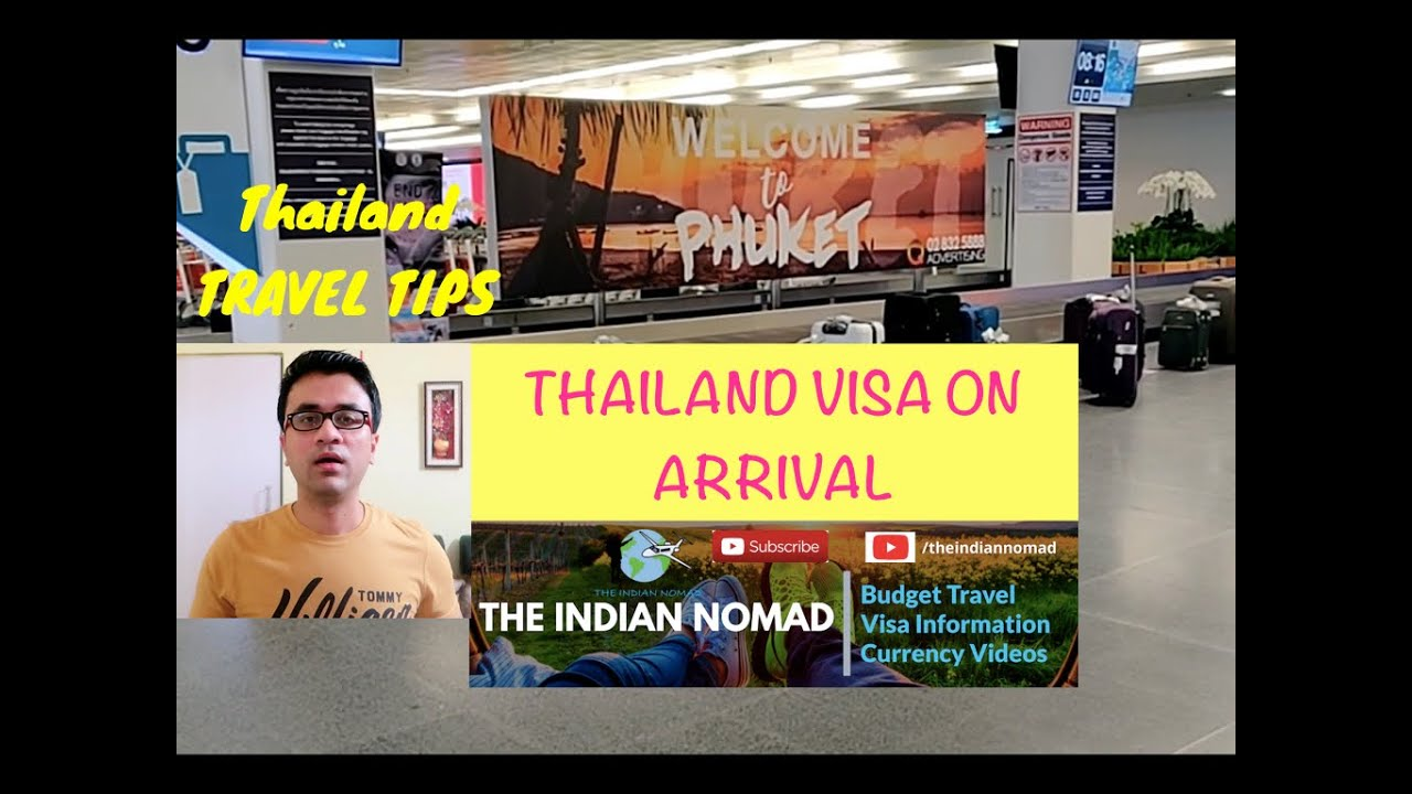 Thailand Visa for Indian (Visa on Arrival for Indian Passport Holders)  Thailand Visa Process Hindi