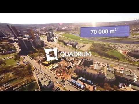 Mitnija's projects: the Quadrum Business Center in Vilnius