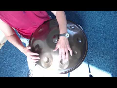 PanAmor Handpan Anna Ziska Scale - A little composition called 'This day'