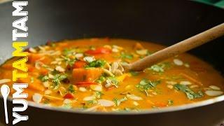 Veganes Süßkartoffelcurry // auch für Fleischfans // #yumtamtam