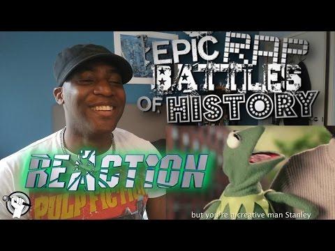 Jim Henson vs Stan Lee. Epic Rap Battles of History - REACTION!