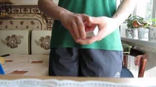 Inked card trick/Карточный фокус